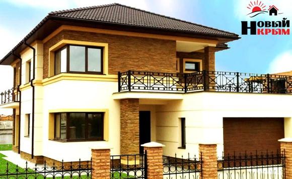 Строительство домов и коттеджей от компании Новый Крым