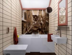 дизайн проект ванной и санузла в Севастополе
